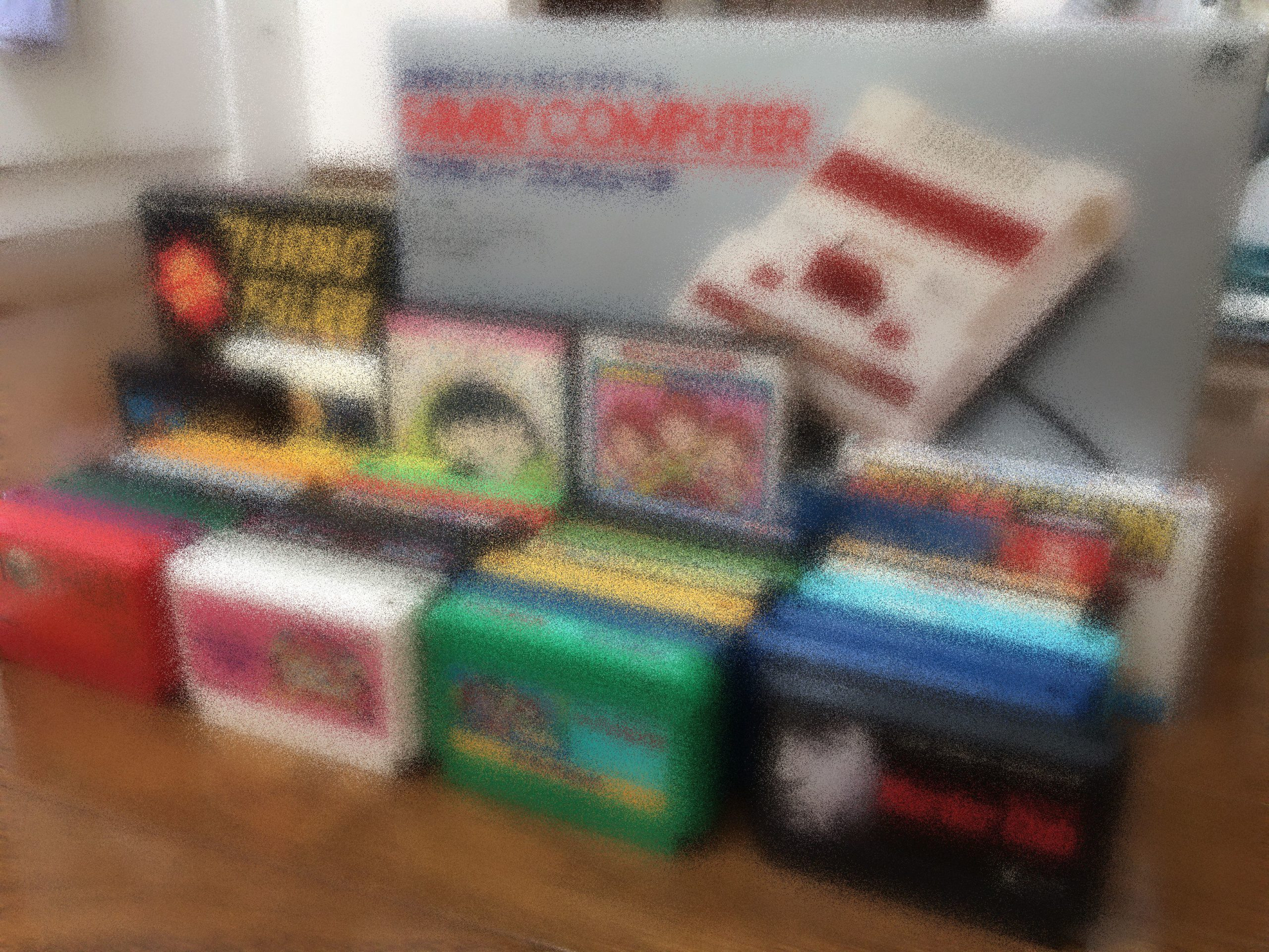 ファミコンカセット本日の成果は34本です。カセット以外に色々とゲットしました